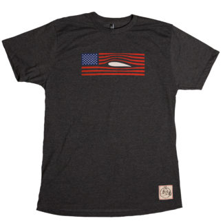 Red, Flight and Blue Airfoil Shirt