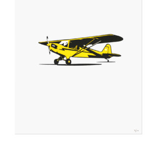 J-3 Piper Cub Art Print